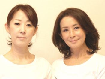 堀池(セラピスト・左)と吉松(代表・右)です